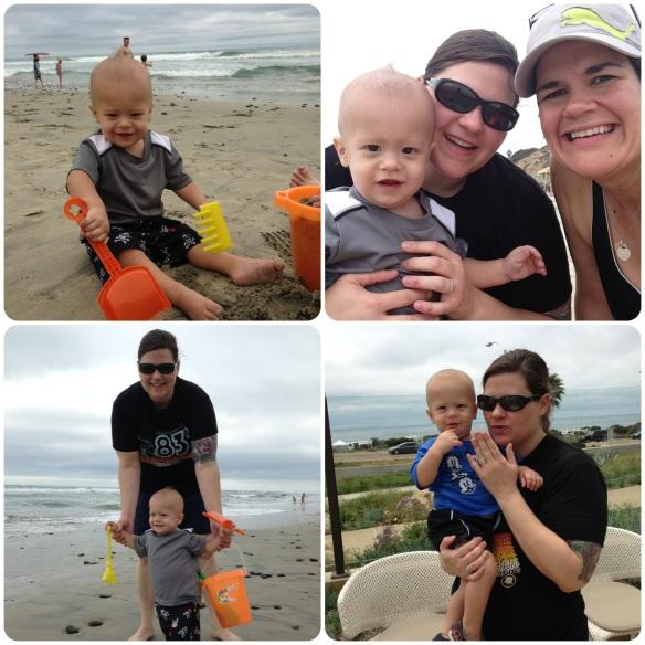 San Diego Beach Time